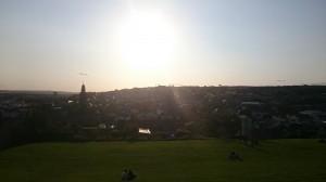 Blick über Cork